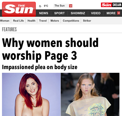 Emily Clarkson weighs in on Page 3   The Sun  Features
