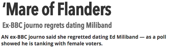 Ex BBC journo Stephanie Flanders regrets dating Miliband   The Sun  News Politics