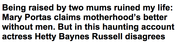 Hetty Baynes Russell disagrees with Mary Portas  motherhood views   Daily Mail Online