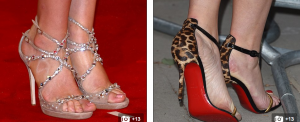 Why DO so many famous women have such monster feet     Daily Mail Online