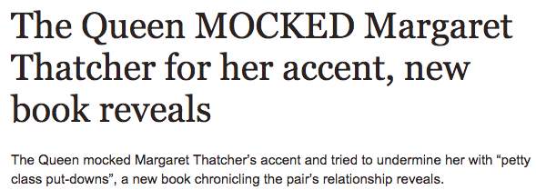 Margaret Thatcher was mocked by the queen  according to new book   Royal   News   Daily Express