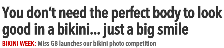 Send bikini pics to The Sun and win a luxury holiday   The Sun  Features
