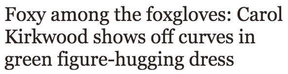 Carol Kirkwood shines in bright green figure hugging dress as she presents bleak forecast   Showbiz   News   Daily Express