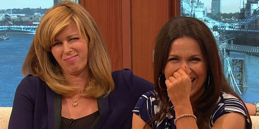 Susanna Reid and Kate Garraway in stitches during interview with Ted 2 s Mark and Seth   Showbiz   News   Daily Expressa