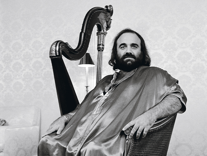 For the young and/or uninitiated, this is Demis Roussos.